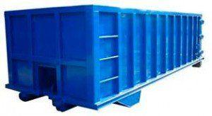 contenedores para residuos amplios.