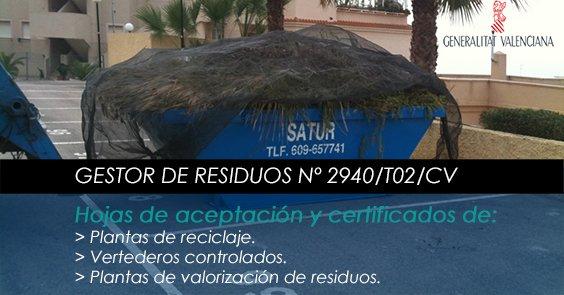 Empresas de alquiler de contenedores en Alicante.