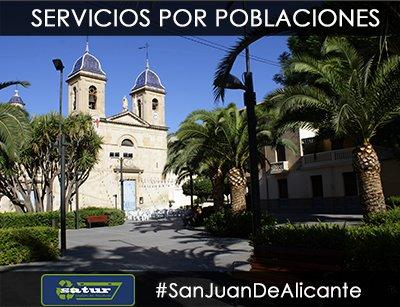 Servicio de alquiler de contenedores en San Juan de Alicante.